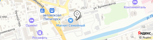 СтавКредит на карте Пятигорска