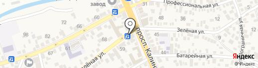 Мастерская по ремонту обуви и кожаных изделий на карте Свобод