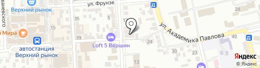 Банк Новый Символ на карте Пятигорска