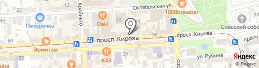 Bella la Vita на карте Пятигорска