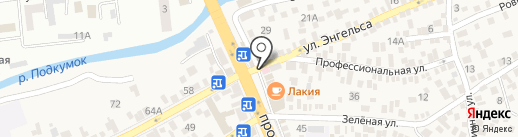 ПироМаг на карте Пятигорска