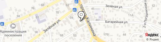 24 часа на карте Пятигорска