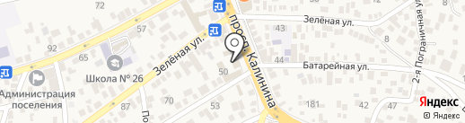 Суши Шу на карте Пятигорска