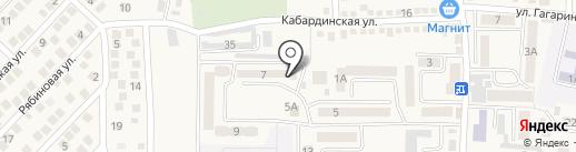Мини-маркет на карте Горячеводского