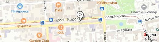 Paper cup coffee на карте Пятигорска