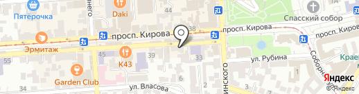 Lollipop на карте Пятигорска