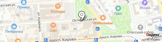 Банкомат, ВТБ Банк Москвы, ПАО Банк ВТБ на карте Пятигорска
