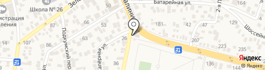 Росгосстрах, ПАО на карте Пятигорска