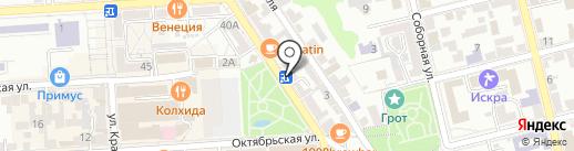 Мангал Club на карте Пятигорска