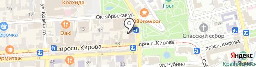 Экспресс Финанс на карте Пятигорска