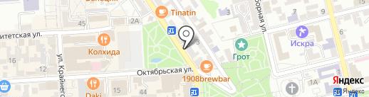 Pizza Pepperoni на карте Пятигорска