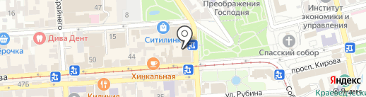 Банкомат, Банк Хоум Кредит на карте Пятигорска