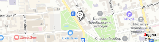 Гирадико-2 на карте Пятигорска