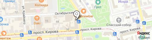 360 на карте Пятигорска