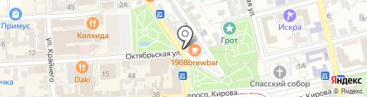 Билайн на карте Пятигорска