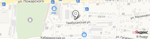 АВЮ на карте Горячеводского