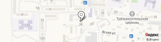 MaxxPro на карте Горячеводского