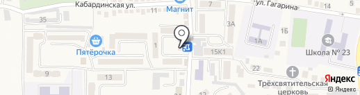 АвтоАльянс на карте Горячеводского