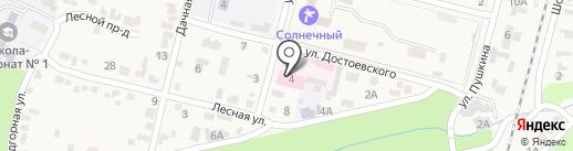 Психиатрическая больница на карте Железноводска