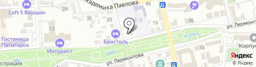 Храм-часовня Василия Великого на карте Пятигорска