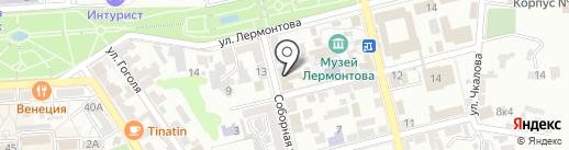 Крупный План на карте Пятигорска