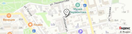 55 военная прокуратура гарнизона на карте Пятигорска