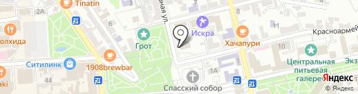 Руно на карте Пятигорска