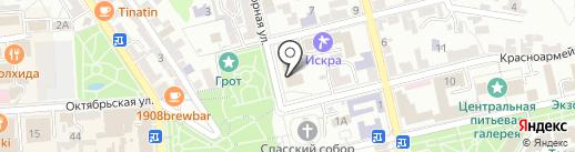Банкомат, КБ Центр-инвест на карте Пятигорска