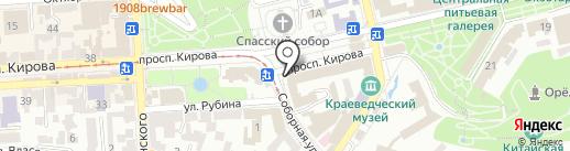 Fresh MIX на карте Пятигорска