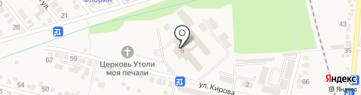 Бештау на карте Железноводска