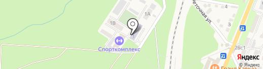 Железноводский художественно-строительный техникум на карте Железноводска