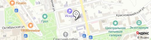 ЮгПрофОценка на карте Пятигорска