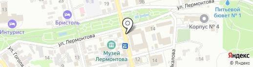 Медицинский центр доктора Ю.П. Жидкова на карте Пятигорска