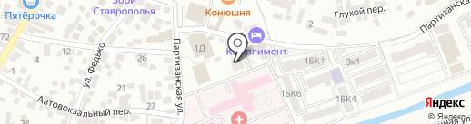 Машук ТВ-РЕН-ТВ-Пятигорск на карте Пятигорска