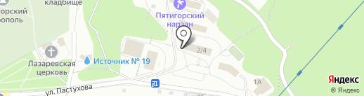 КавМедиа Груп на карте Пятигорска