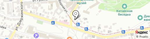 Полюс-АН на карте Пятигорска