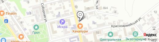 Пушкинский дом на карте Пятигорска