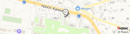 СДЮСШОР №2 на карте Пятигорска