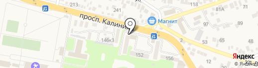 Метро на карте Пятигорска