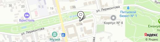 Дон на карте Пятигорска