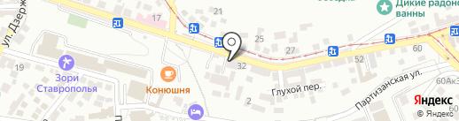 Отдел по лицензионно-разрешительной работе на карте Пятигорска