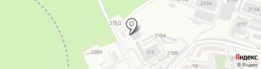 Элин на карте Железноводска