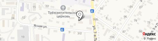 Детский дом №26 для детей-сирот и детей оставшихся без попечения родителей на карте Горячеводского
