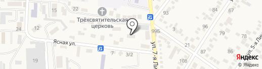 Центр психолого-педагогической, медицинской и социальной помощи семье и детям на карте Горячеводского