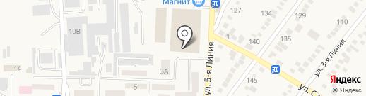 Станкотерм на карте Горячеводского