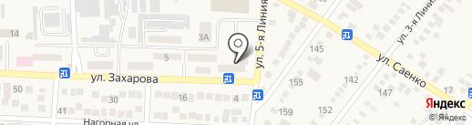 Кожа и фурнитура на карте Горячеводского