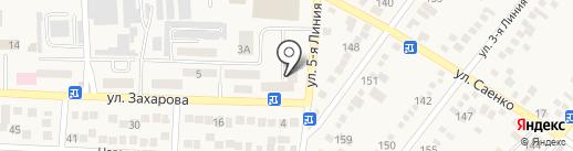 Магазин кожи и фурнитуры на карте Горячеводского
