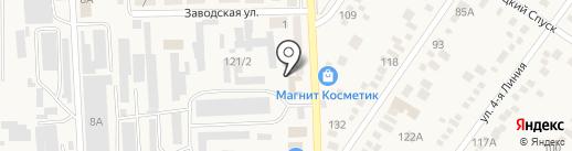 Стоматологический кабинет на карте Горячеводского