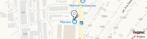 Селинг на карте Горячеводского