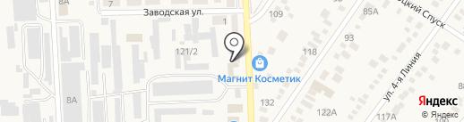 ЧИФ на карте Горячеводского